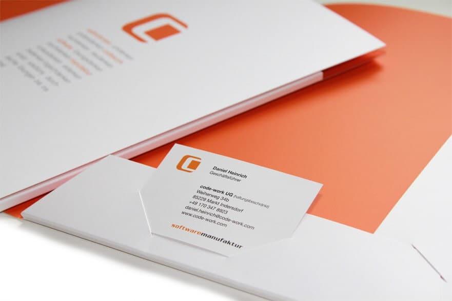 Logo- & Printdesign - Beispiel: codework