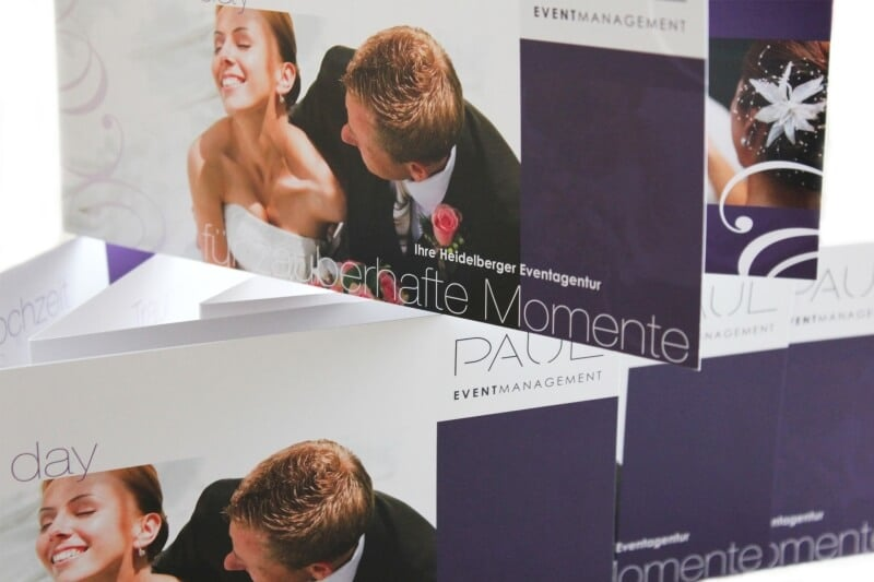 Logo- & Printdesign - Beispiel: PAUL EVENTMANAGEMENT