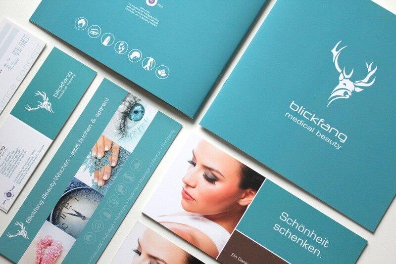 Logo- & Printdesign - Beispiel: blickfang