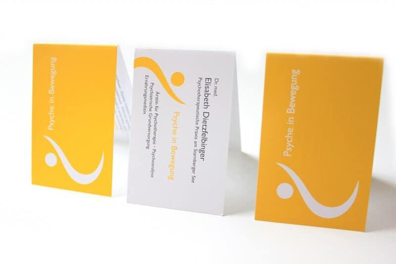 Logo- & Printdesign - Beispiel: Elisabeth Dietzfelbinger