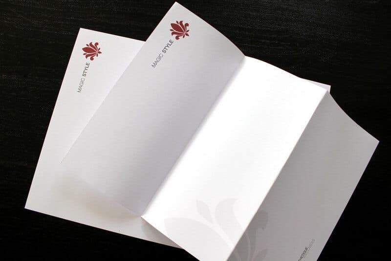 Logo- & Printdesign - Beispiel: Salon La Biosthethique