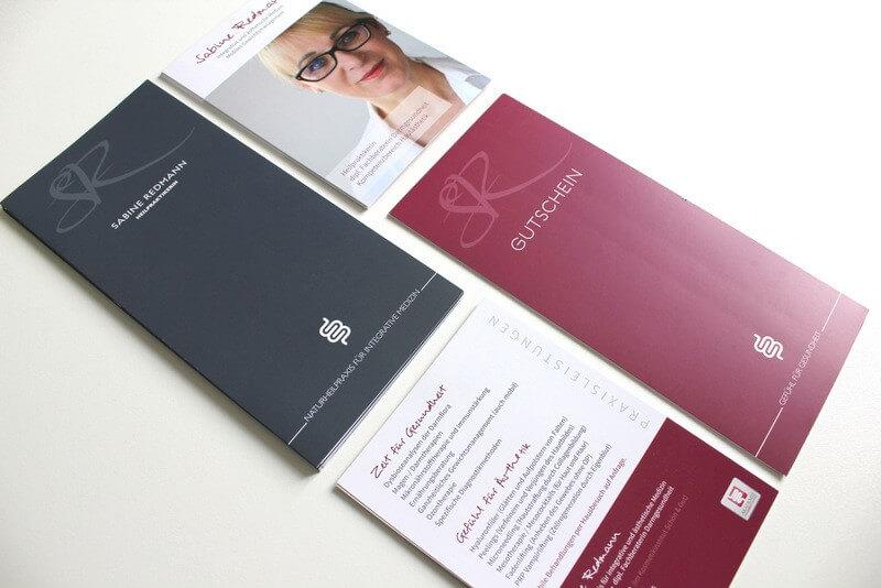 Logo- & Printdesign - Beispiel: Sabine Redmann