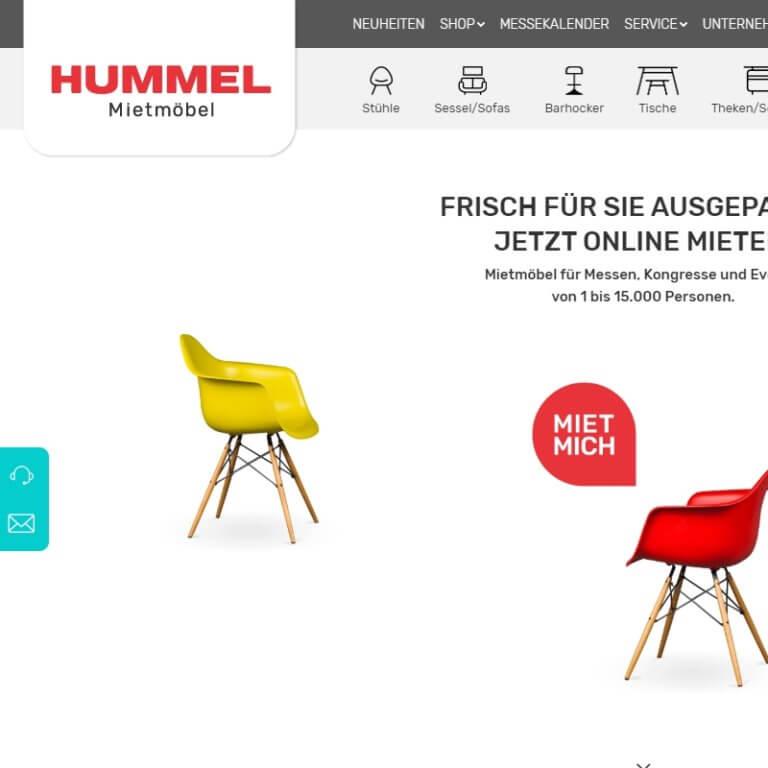 Referenz: hummel-mietmoebel.de