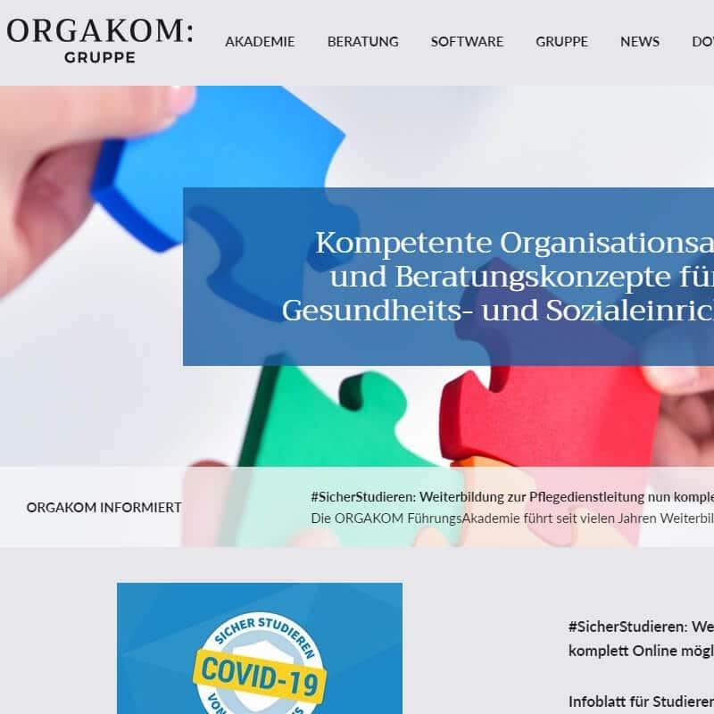 Referenz: orgakom.biz
